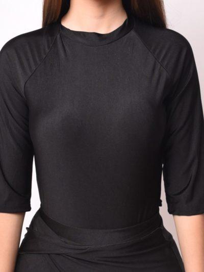 בגד ים שלם-שחור בגד ים צנוע- MORIÉ