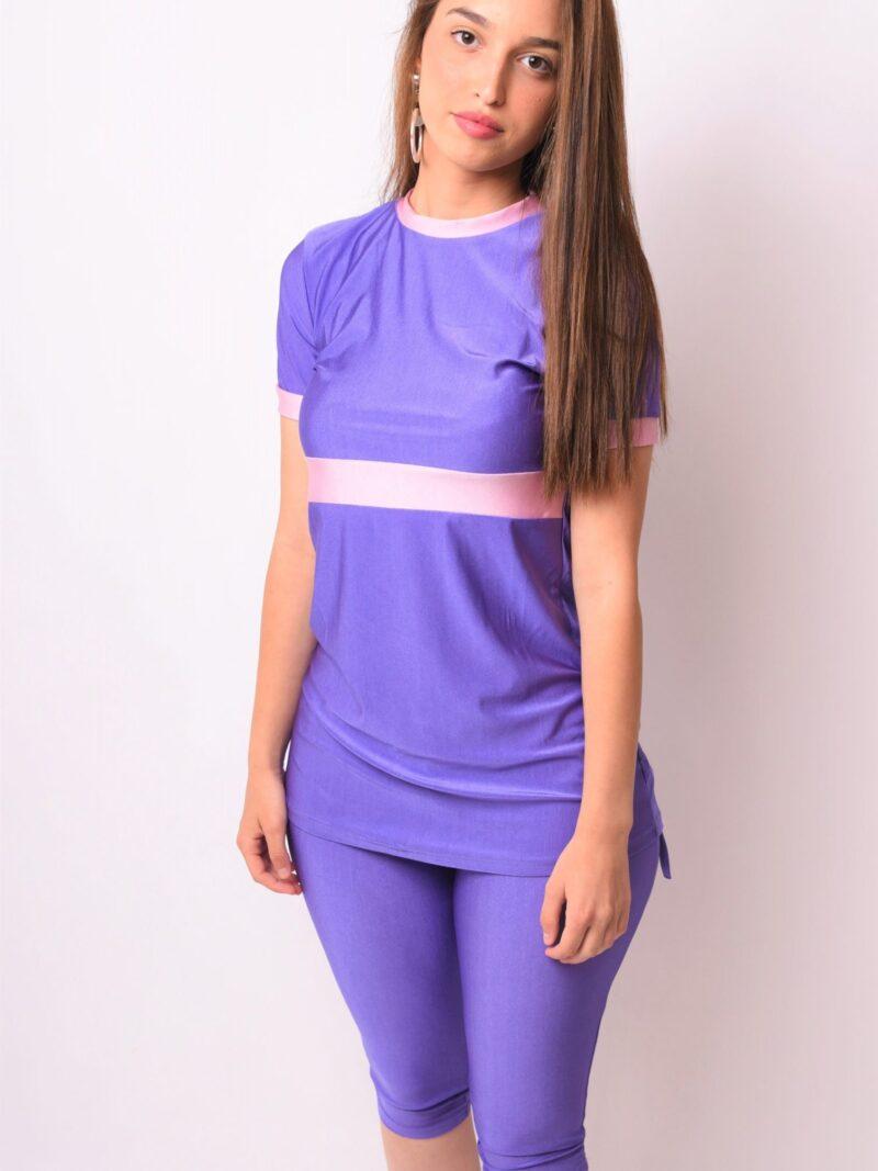 ליאן- סגול בגד ים צנוע- MORIÉ